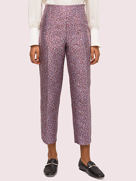 party bubbles jacquard pant by kate spade new york