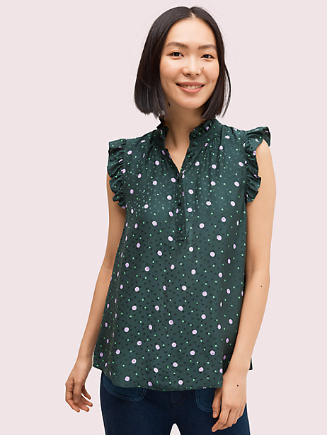 pop dots shell by kate spade new york