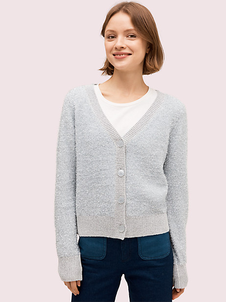 sparkle cardigan sweater by kate spade new york
