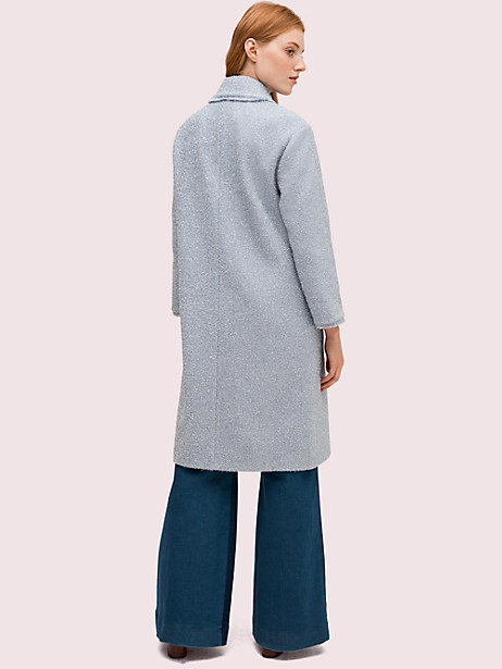 Tinsel tweed coat | Kate Spade New York