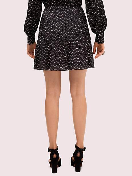 Wavy dot skirt   Kate Spade New York