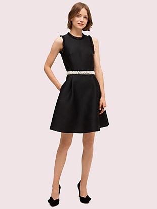 pearl crystal mikado dress by kate spade new york non-hover view