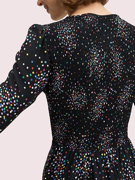 Confetti cheer smocked dress   Kate Spade New York