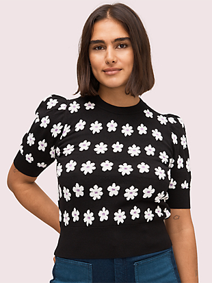 marker floral sweater by kate spade new york non-hover view
