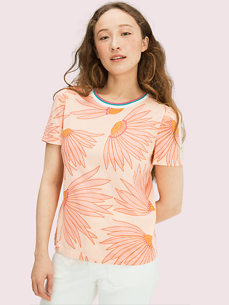 falling flower tee by kate spade new york
