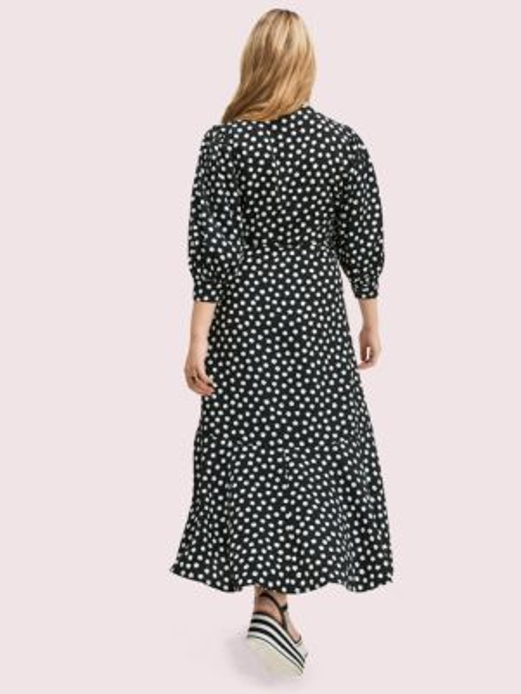 Cloud dot wrap dress | Kate Spade New York
