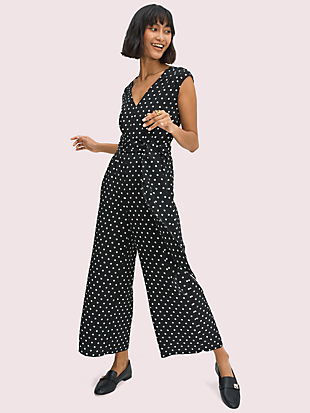 cabana dot jumpsuit by kate spade new york non-hover view