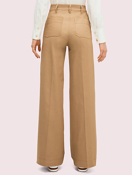 Solid cotton trouser   Kate Spade New York