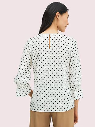 cabana dot top by kate spade new york hover view