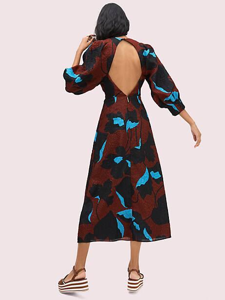 City blooms jacquard dress   Kate Spade New York