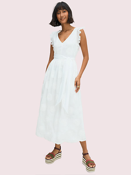 Bloom organza dress   Kate Spade New York