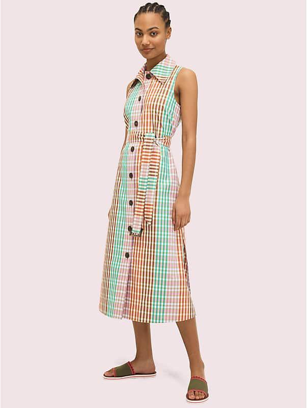 rainbow plaid shirtdress, , rr_large