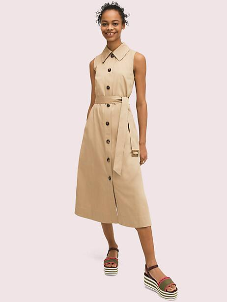 sleeveless shirtdress by kate spade new york