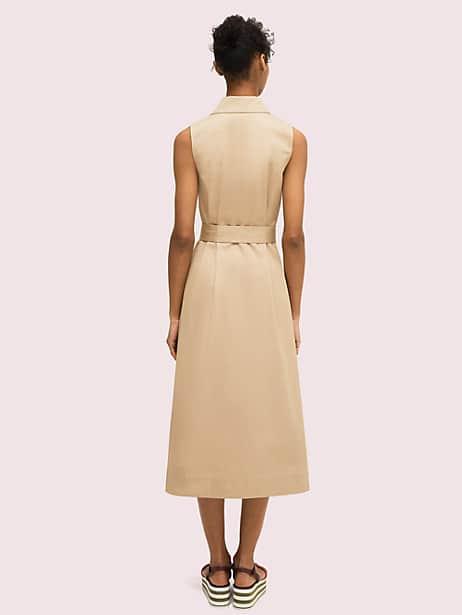 Sleeveless shirtdress | Kate Spade New York