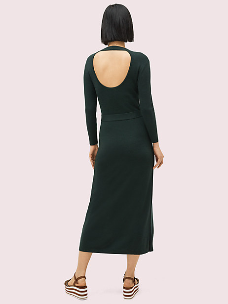 Button front sweater dress | Kate Spade New York