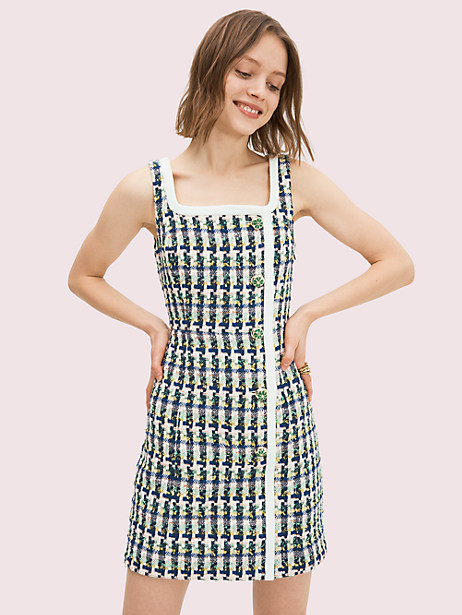 pop tweed dress by kate spade new york