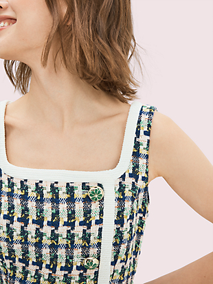 pop tweed dress by kate spade new york hover view