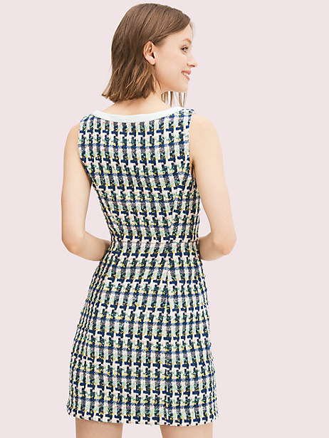 Pop tweed dress | Kate Spade New York