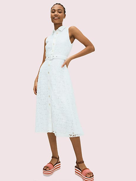 leaf lace dress by kate spade new york