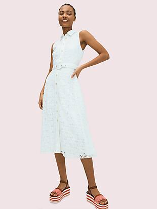 leaf lace dress by kate spade new york non-hover view