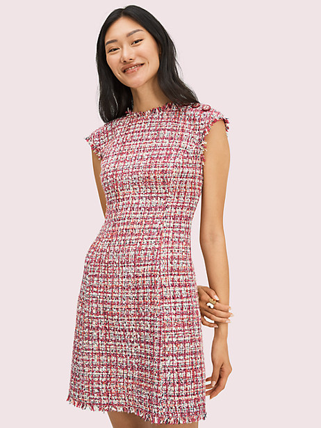textured tweed dress by kate spade new york