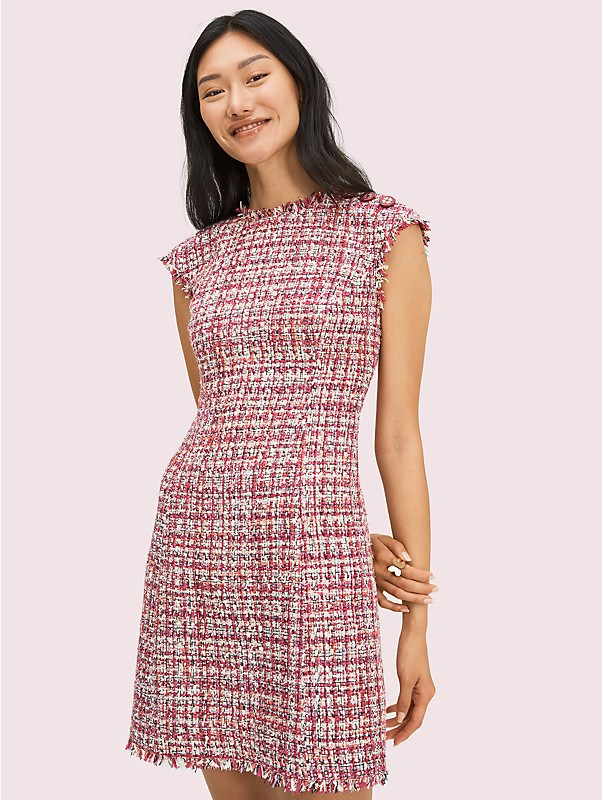 textured tweed dress, , rr_large