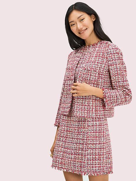 Textured tweed dress | Kate Spade New York