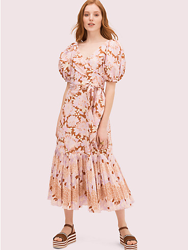 exotic bloom poplin dress, , rr_productgrid
