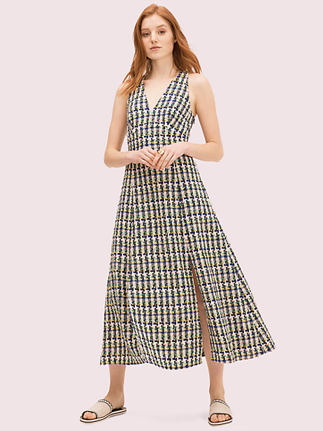 pop tweed halter dress by kate spade new york