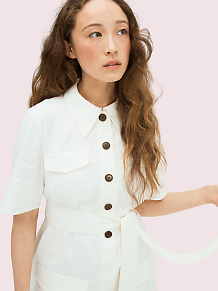 utility shirtdress by kate spade new york hover view