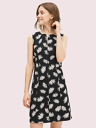 falling flower piqué dress by kate spade new york non-hover view