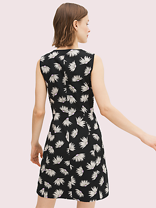 falling flower piqué dress by kate spade new york hover view