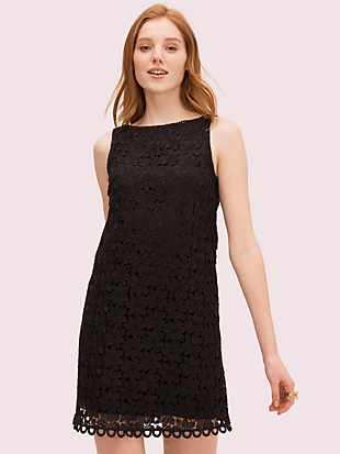 leaf lace shift dress by kate spade new york non-hover view