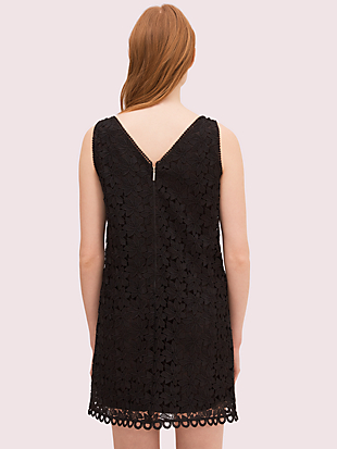 leaf lace shift dress by kate spade new york hover view