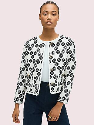 spade tweed jacket by kate spade new york non-hover view