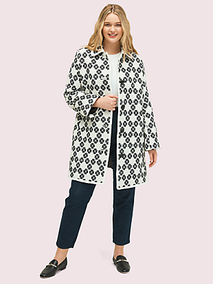 spade tweed coat by kate spade new york non-hover view
