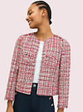 textured tweed jacket, , s7productThumbnail