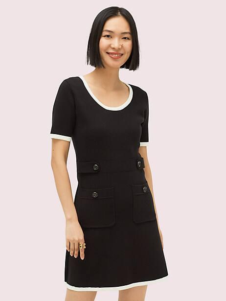 patch pocket sweater dress by kate spade new york