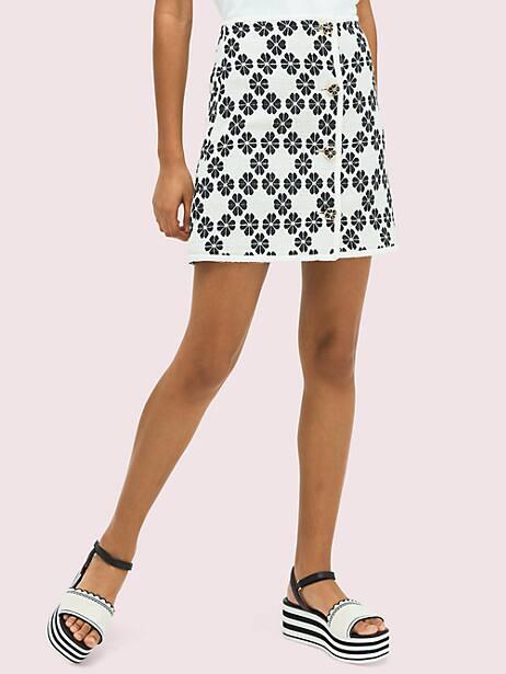 Spade tweed skirt | Kate Spade New York