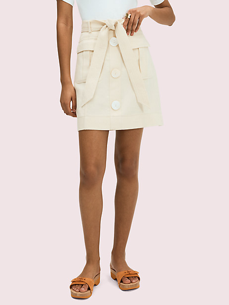 luxe twill skirt by kate spade new york