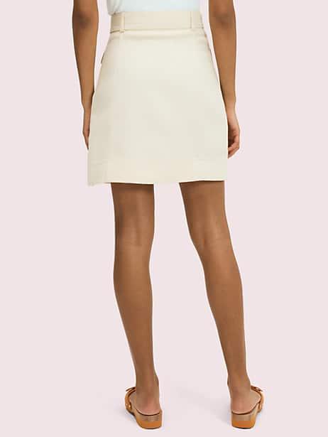 Luxe twill skirt   Kate Spade New York