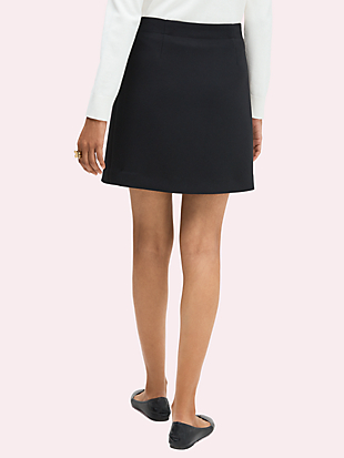 colorblock button-through skirt by kate spade new york hover view