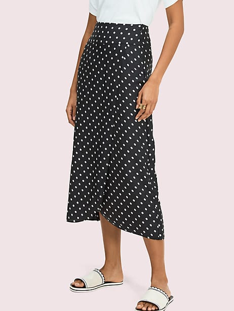 cabana dot skirt by kate spade new york