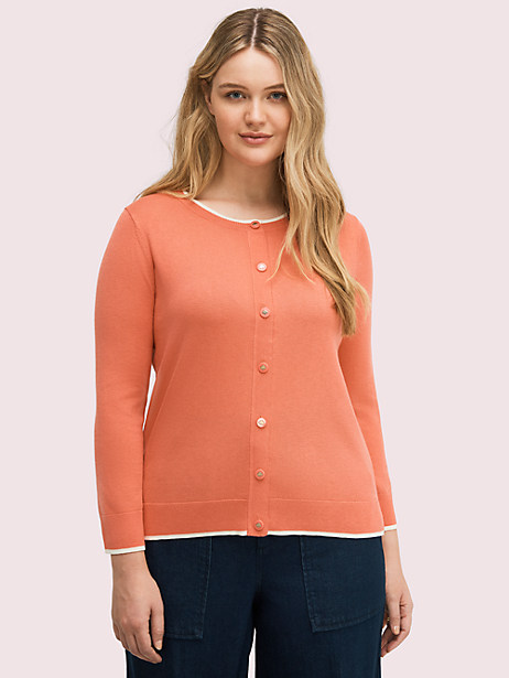 signature button cardigan by kate spade new york