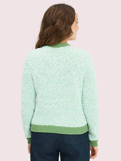 Knit tweed cardigan | Kate Spade New York