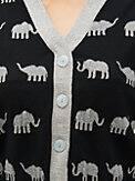 elephant v-neck cardigan, , s7productThumbnail