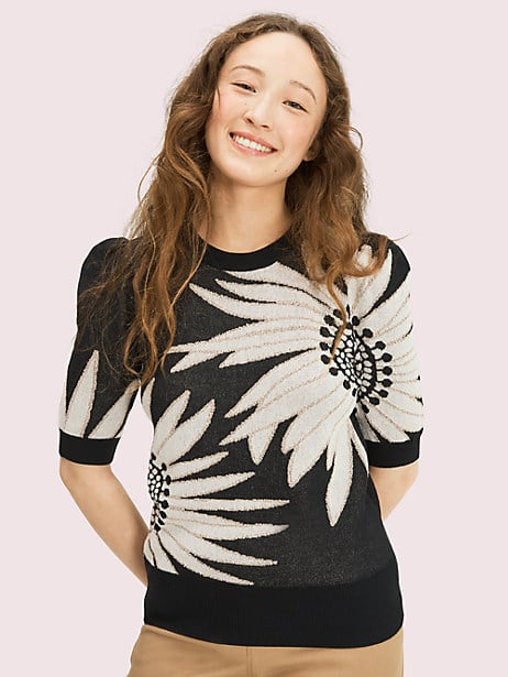 falling flower sweater by kate spade new york