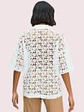 leaf lace blouse, , s7productThumbnail