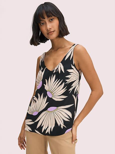 falling flower sleeveless top by kate spade new york