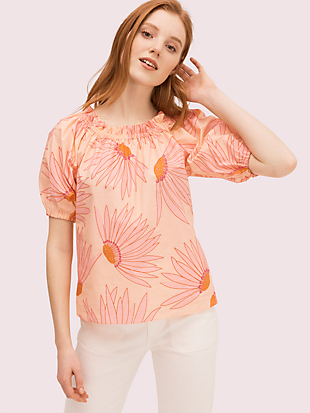 falling flower blouse by kate spade new york non-hover view